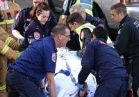 Aizkustinošās policista rūpes par auto notriektās grūtnieces 2 gadus veco dēlu FOTO