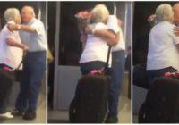 Šis notikums lidostā liek noticēt mūžīgai mīlestībai! FOTO,VIDEO