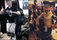 """Students pārveido savu ratiņkrēslu par bagiju no filmas """"Trakais Makss: Skarbais ceļš"""" FOTO"""