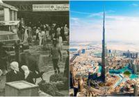Dubajas pārsteidzošās pārvērtības 60 gadu laikā FOTO