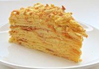 Vienkārša recepte ideālas Napoleona kūkas pagatavošanai