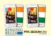 Sensācija – Indijā ražots viedtālrunis ''Freedom 251'' maksā mazāk nekā 4 dolārus VIDEO