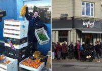 Dānijā atvērts pirmais lielveikals ar produktiem, kuriem beidzies derīguma termiņš FOTO