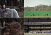 Daudziem labi zināmas filmas, seriāli pirms un pēc specefektiem FOTO
