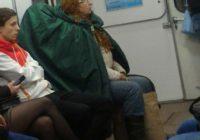 Tautas mode jeb 19 koši eksemplāri Krievijas metro! FOTO