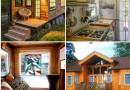 Kā no paletēm uzbūvēt vasarnīcu, kas līdzināsies villai. FOTO, VIDEO