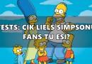 TESTS: Cik liels Simpsonu fans Tu esi?