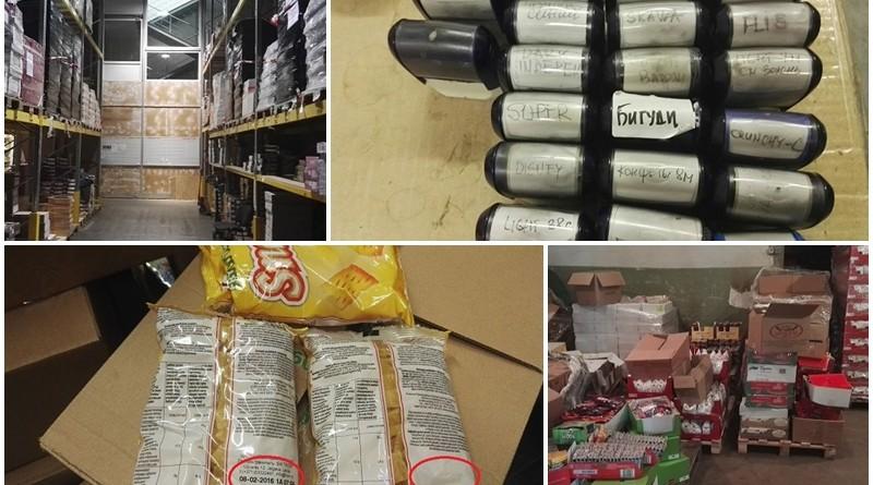 PVD noliktavā Jelgavā atklāj desmit tonnas vecu saldumu: piegādes veiktas lielākajiem veikaliem FOTO