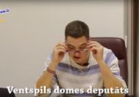 Parodija par kādu Ventspils domes deputātu izraisa lielu sabiedrības interesi VIDEO