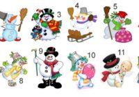 TESTS: Izvēlies sniegavīru un uzzini, kas ar tevi notiks šajā ziemā!