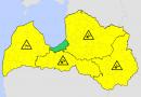 UZMANĪBU: Latvijas sinoptiķi izplata brīdinājumu!