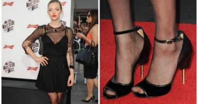 Kāpēc slavenības valkā izmēru lielākus apavus? FOTO