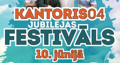 Iesildīsim labas mūzikas vasaru jau 10. jūnijā Valmieras pilsētas estrādē – grupas KANTORIS 04 JUBILEJAS FESTIVĀLĀ!