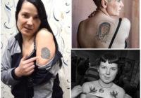 FOTO: Cietumnieču tetovējumi. Ar ko atšķiras skarbo dāmu ķermeņa māksla?