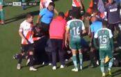 VIDEO: Traģēdija futbola mača laikā – tiesnesis saļimst un vēlāk nomirst