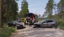 FOTO, VIDEO: Satiksmes negadījumi Salaspilī, Jūrmalā, Aizkrauklē