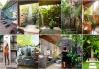 FOTO: Desmitiem ideju, kā ierīkot dušu un īstu SPA savā dārzā