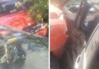 VIDEO: Pieci cilvēki cietuši smagā avārijā Vecbebros