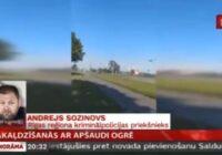VIDEO: Pakaļdzīšanās laikā raidot šāvienus, aizturēts bīstams autovadītājs