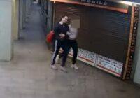 VIDEO: Policija lūdz palīdzību, lai noķertu sienu apķēpātāju