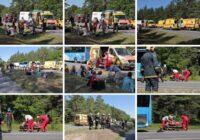 VIDEO: Igaunijā pasažieru autobusa un kravas automašīnas sadursmē cietuši 26 cilvēki