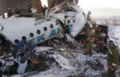 VIDEO: Kazahstānā pasažieru lidmašīnas katastrofā 12 bojāgājušie