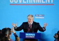 Britu konservatīvie izcīna stabilu vairākumu (Tiešraide)