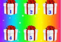 TESTS. Izvēlies dāvanu un uzzini, kāds būs Jaunais gads!