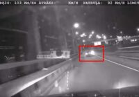 """Vājprāts: """"BMW"""" vadītājs Rīgas ielās bēg no policijas ar 195 kilometriem stundā"""