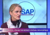 VIDEO: Kristīne Misāne Latvijā atgriezīsies pēc desmit dienām. Komentārs par Līderības likumu