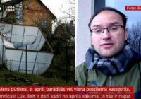 Toms Bricis: Latvijā atkal gaidāma vētra! (VIDEO)
