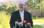 Tiešraide: Valsts prezidents informē par Baltijas telpas atvēršanu