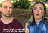 VIDEO: Latviešu pāris no Mančestras piedalās Covid-19 vakcīnas meklējumos