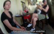 Uzdzīve ar zīdaini vasaras kafejnīcā: mamma pat nespēj pateikt, cik izdzērusi (VIDEO)
