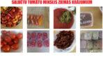 Saldēti un kaltēti tomāti ar papriku un čili. 3 vienkāršas receptes!