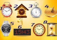 TESTS. Izvēlies pulksteni un uzzini, kāda ir tava laika izjūta!