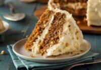 Burkānkūka ar krēmu, riekstiem un rozīnēm. + Vēl trīs interesantas kūku receptes!