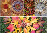 FOTO: Pēc pastaigas zelta rudenī pagatavo burvīgu mandalu!
