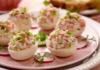 Olas ar šķiņķa un marinētu gurķu pildījumu. + Vēl trīs pildītu uzkodu receptes!