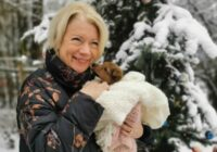 Ilze Jurkāne adoptējusi patversmes suņuku. + Laimīgais stāsts par sunīti ar paralizētām ķepiņām