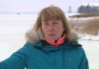 """""""Mamma ar zīdaini bija pilnībā zem ūdens!"""" Izglābj Daugavas ledū ielūzušu ģimeni"""