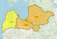 Uzmanību! Izplatīts oranžais brīdinājums par sniegu Rīgā un Vidzemē