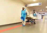 Rīgas 1. slimnīca atver nodaļu Covid-19 pacientu ārstēšanai