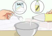 Pieci knifiņi, kā sāls palīdz mājas darbos