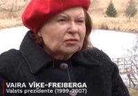 VIDEO: Kā pēc kovidpotes jūtas Vaira Vīķe-Freiberga?