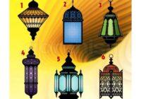 TESTS. Izvēlies lampu un uzzini, kā uzlabot savu karmu!
