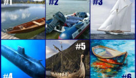 TESTS. Izvēlies laivu un uzzini, kā tu dari savus darbus!