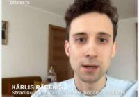 VIDEO: Vasara būs jauka, ja rīkosimies prātīgi, prognozē karantīnas ārsts