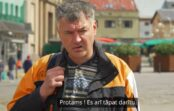 VIDEO: Kādi latvieši pie Centrāltirgus atbalsta Lukašenko?