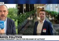 """VIDEO: Baltkrievijas """"pārtvertajā"""" avioreisā arī divi Latvijas valstspiederīgie"""